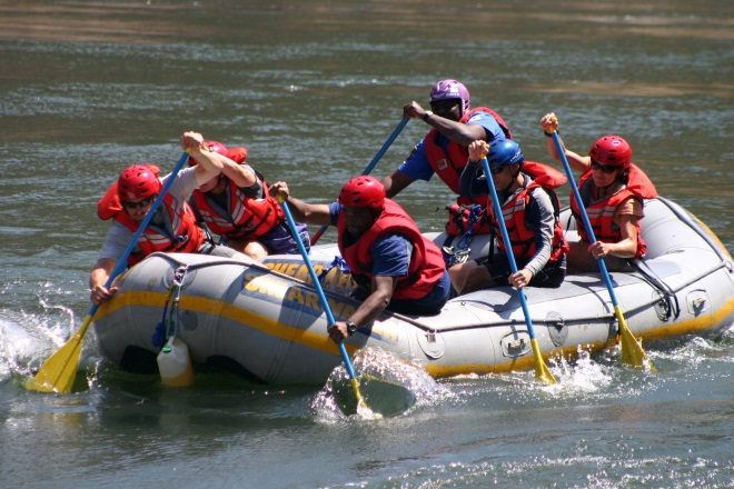 Image result for white water rafting shearwater